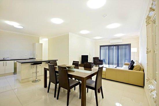 Astina Serviced Apartments - Central: Standard bathroom/ laundry