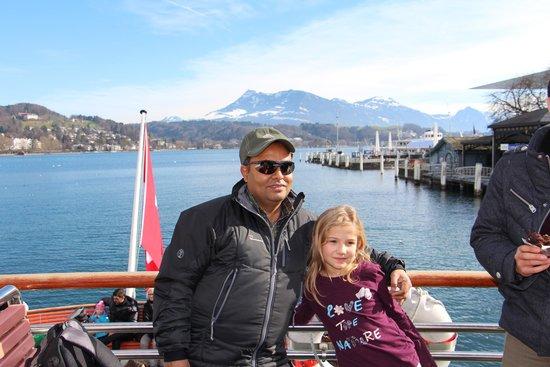Lake Luzern: moment..