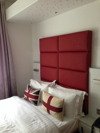 Henley House Hotel : Letto
