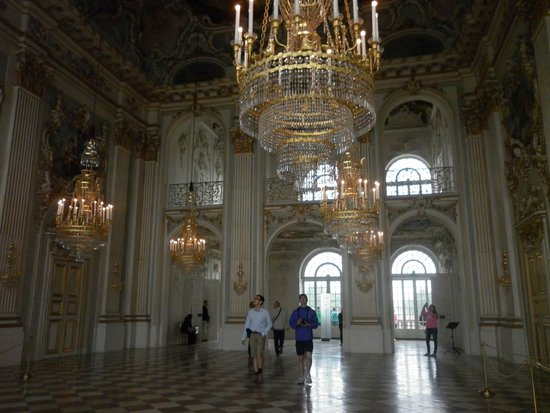 Nymphenburg Palace : The entry hall