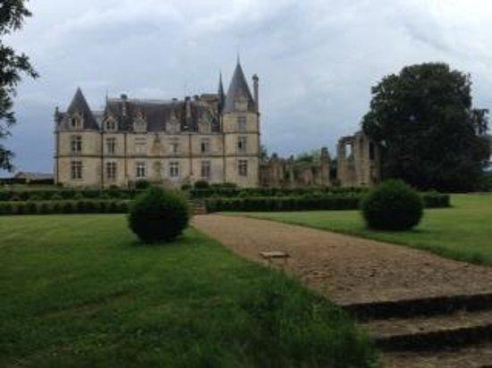 Chateau de la Flocelliere: Vue depuis le thuya du château, unique en Europe, je n'en dit pas plus, allez le découvrir