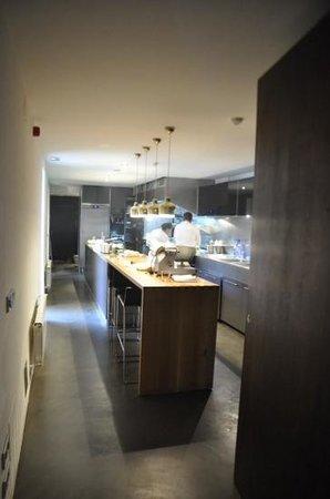 Hotel Consolacion: the open kitchen