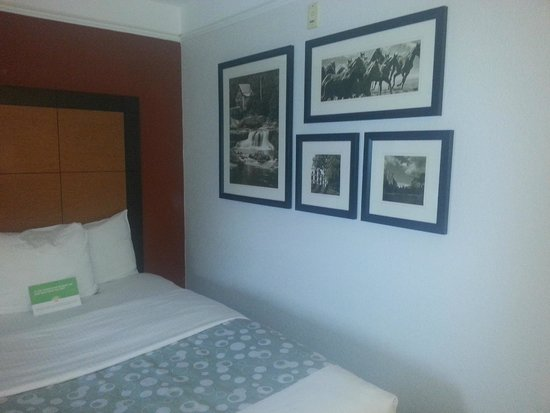 La Quinta Inn & Suites Fort Worth North: Art on the wall in our room