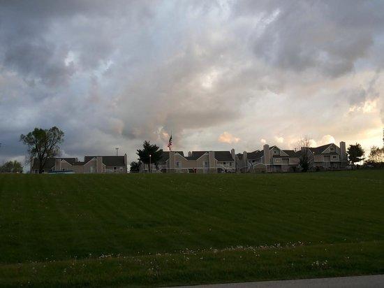 Residence Inn Lexington North : From backside
