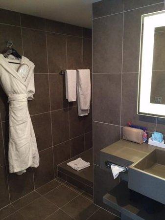 Novotel Toulouse Centre Wilson : Salle de bains suite 115