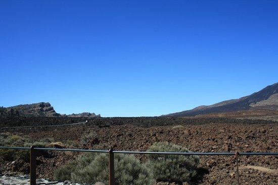 Volcan El Teide : пейзаж у подножия