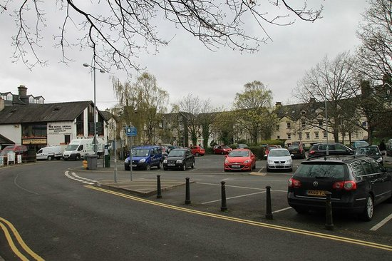 The Royal Oak at Keswick: Ближайшая парковка