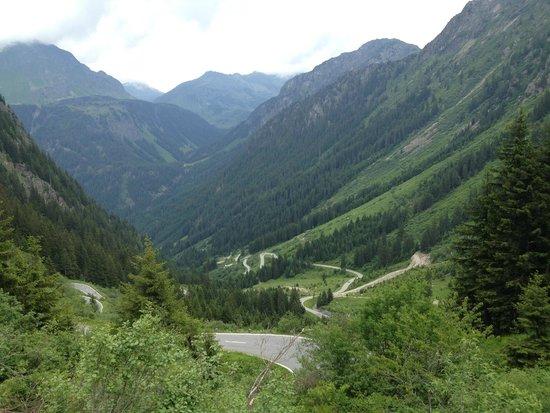 Hotel Enzian: Silvretta Pass