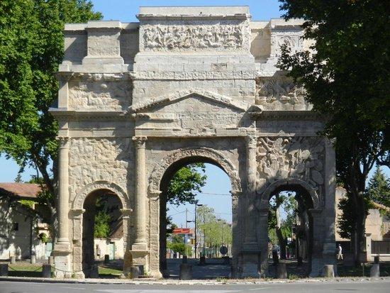 Arc de triomphe : arco di trionfo di Orange