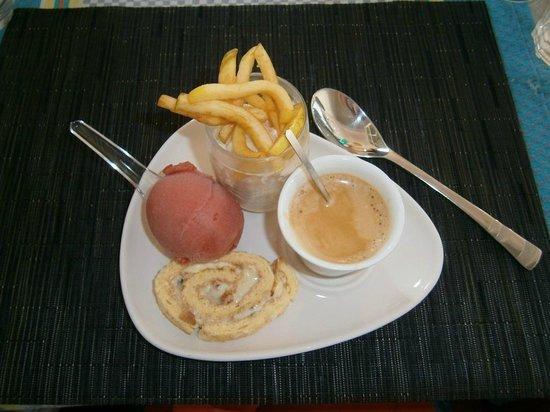 Hotel la Villa Marine : Café gourmand.