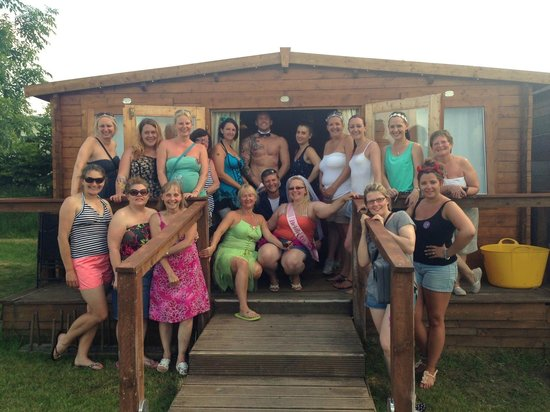 Dorset Country Holidays Glamping: Hen Party Cocktail Making with a Butler in the Buff