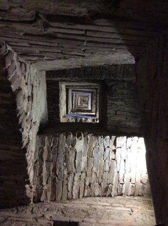 Torre del Mangia: escadaria