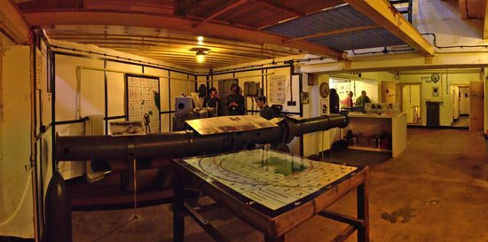 Battery Lothringen: M-132 Underground Command Bunker