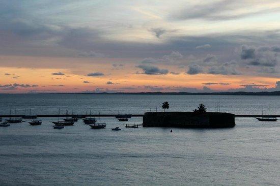 Sao Marcelo (do Mar) fort : Форт. Закат