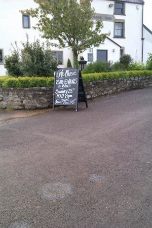 The Holcombe Inn: Live Advert