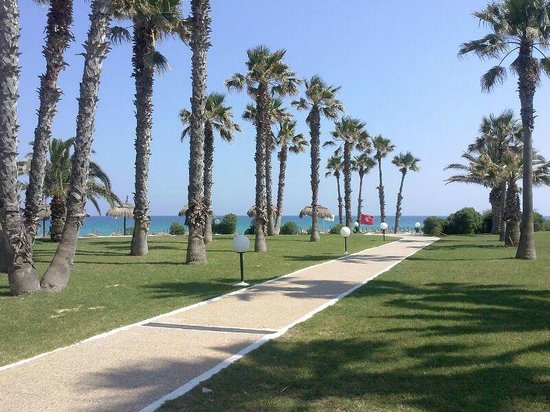 El Mouradi Beach : PARTE DEI GIARDINI