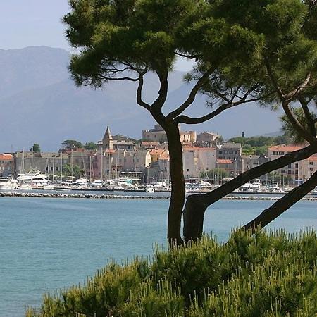 La Roya : Saint Florent vue de l'hôtel