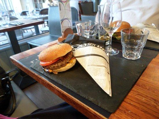 La Villa Gourmande : burger