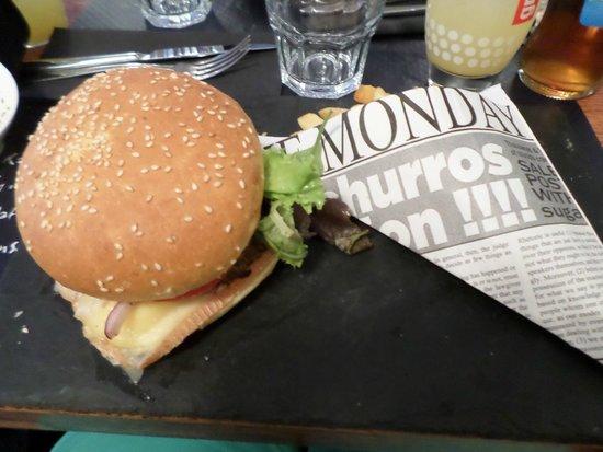 La Villa Gourmande : chti burger
