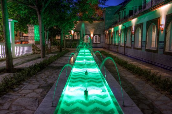 Balneario San Andres: Fuente Entrada