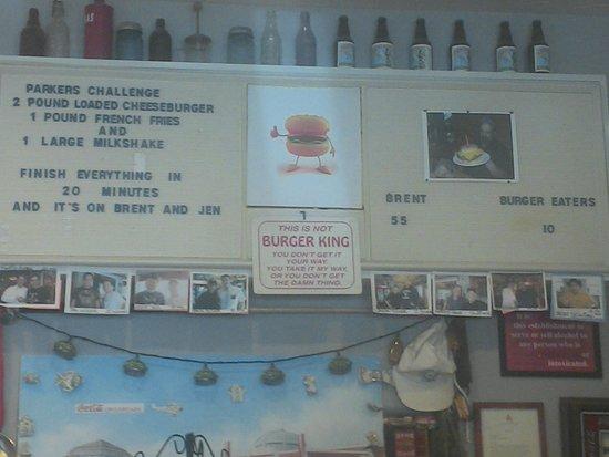 Parker's challenge
