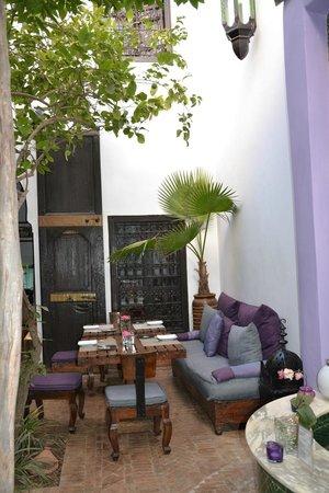 Riad Houdou : le patio