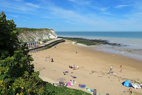 Broadstairs, UK: Dumpton Gap.