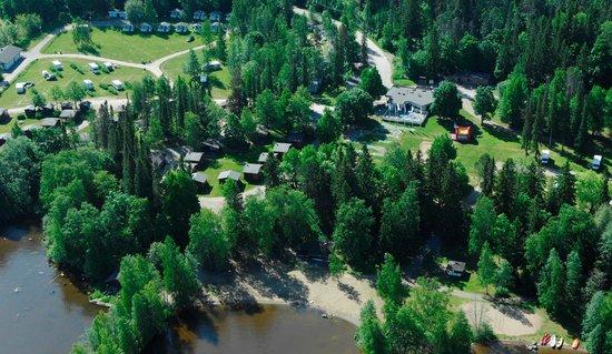 Tampere Camping Harmala : Ilmakuva alueesta