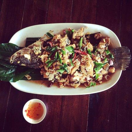 Kin Dee Restaurant: House Specialty Fish