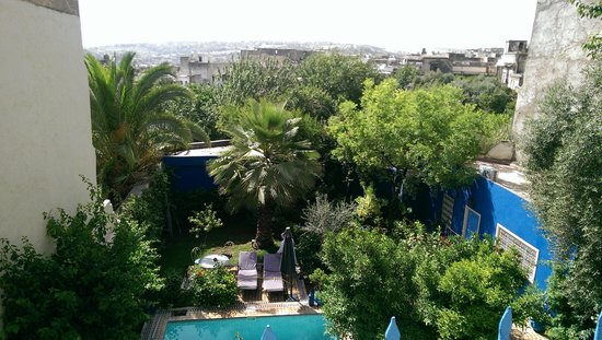 Riad Jean Claude: The view from the second floor