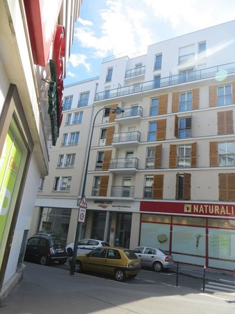 Appart'City Paris Clichy Mairie: Esterno dell'Hotel