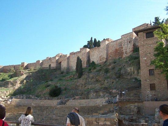 Alcazaba (fort) : Parte esterna