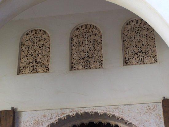 Alcazaba (fort) : Particolari scultorei