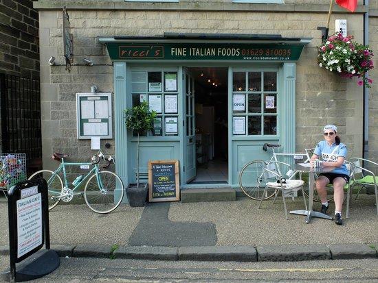 Ricci's Cafe, Bakewell.