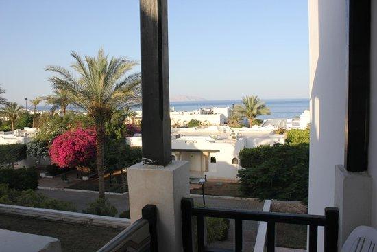 Poinciana Sharm Resort & Apartments: Вид из номера
