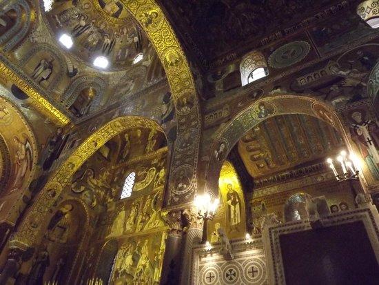 Palazzo dei Normanni: Porzione della Cappella Palatina