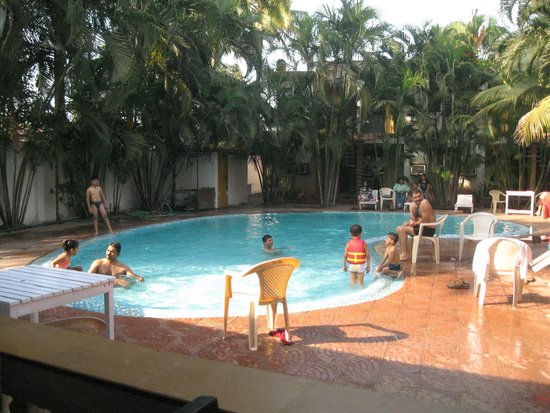 Pool Side View Picture Of Silver Sands Beach Resort Daman Daman Tripadvisor