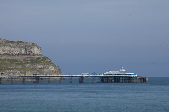 Llandudno Pier: From the promenade