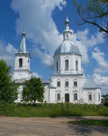 Alamasovo, Rusia: Троицкая церковь в Аламасово Нижегородской области
