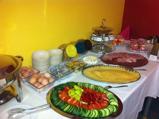 BEST Hotel Garni Olomouc: Our breakfast