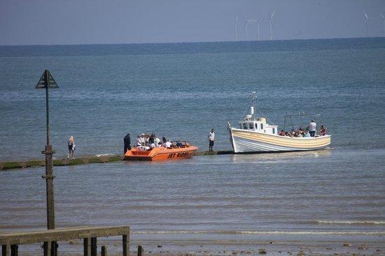 Promenade: Boat rides available