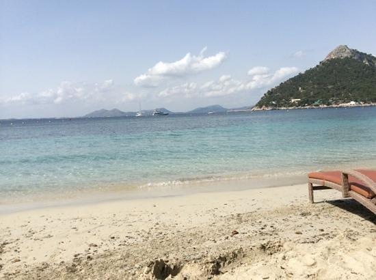Formentor, a Royal Hideaway Hotel: Playa del Hotel