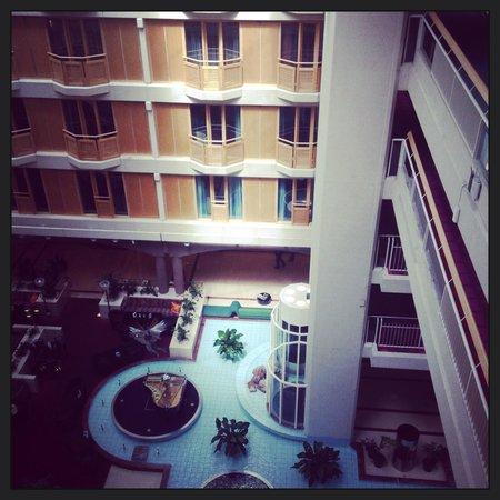 Radisson Blu Scandinavia Hotel, Gothenburg : Den fina mittdelen