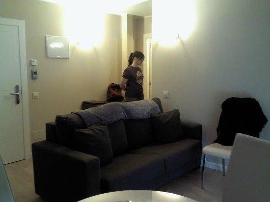 Apartamentos Ancora: Zona de estar