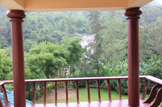 Aruvi Resorts : View from Cottage Balcony