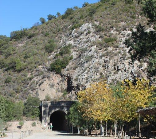 Estacion de Coripe: VÍA VERDE DE LA SIERRA DE SEVILLA