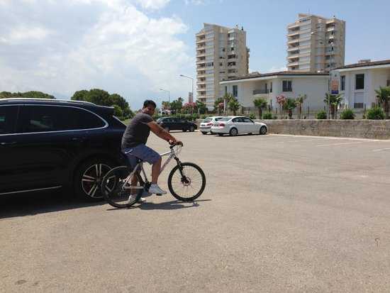 The Marmara Antalya : Hire a bike for a tour