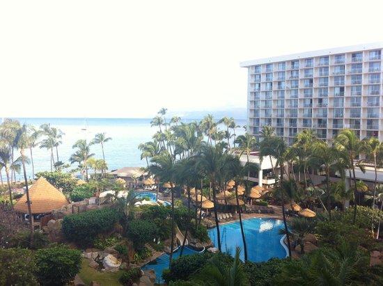 Westin Maui Resort And Spa: вид с балкона