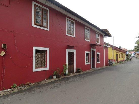 Fontainhas: Beautiful homes