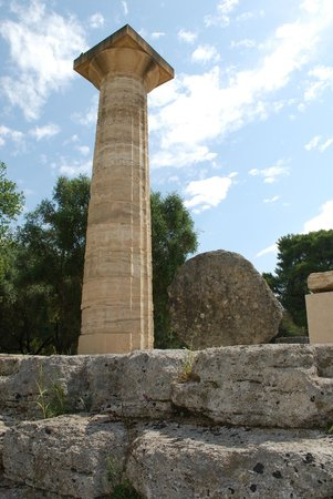 Ancient Olympia: Ruins